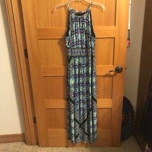 Roz & Ali Long Dress Size 16 Petite